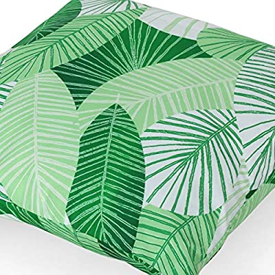 Christopher Knight Home 311758 Natividad Outdoor Pillow Cover (Set of 2), Green : Garden & Outdoor