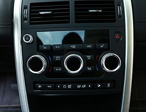2017 Aluminium Volumen Klimaanlage Kn/öpfe Audio Ringbord/üre Discovery Sport 2015