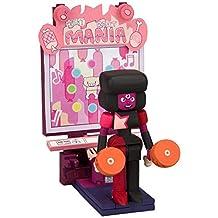 McFarlane Toys ID12891 Steven Universe Micro Construction Set-Garnet with Arcade Mania