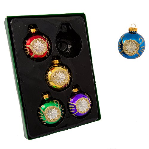 vintage christmas ornaments sets amazoncom - Vintage Christmas Decorations