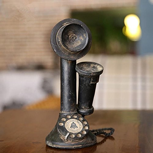 American Nostalgia Style Receiver Telephone Mode Vintage Bar Home Decor Crafts Are Retro Telephones 2211cm