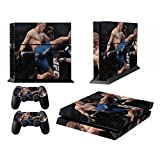 Designer Skin for PS4 Playstation 4 Console + Dualshock Controller Decals Boxing by Guv'Ner (0100-01-01)