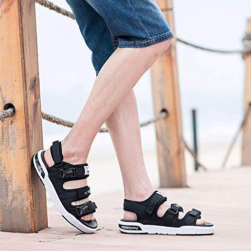 Fuweiencore 4 Para Casuales Zapatos Verano 44eu Adolescentes Confortables Sandalias 1 Zapatillas De color Playa Hombres Tamaño rtpqr7wx