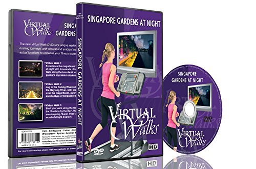 Virtual Walks - Gardens at Night for indoor walking, treadmill and cycling - Sunglasses Product Photography