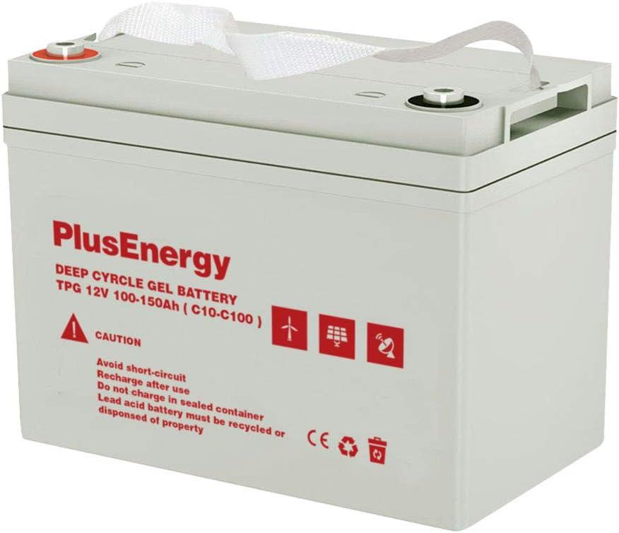 Bateria AGM/Gel 12V 100-150Ah C10 - C100 (Batería Gel PlusEnergy 12V 100-150AH)
