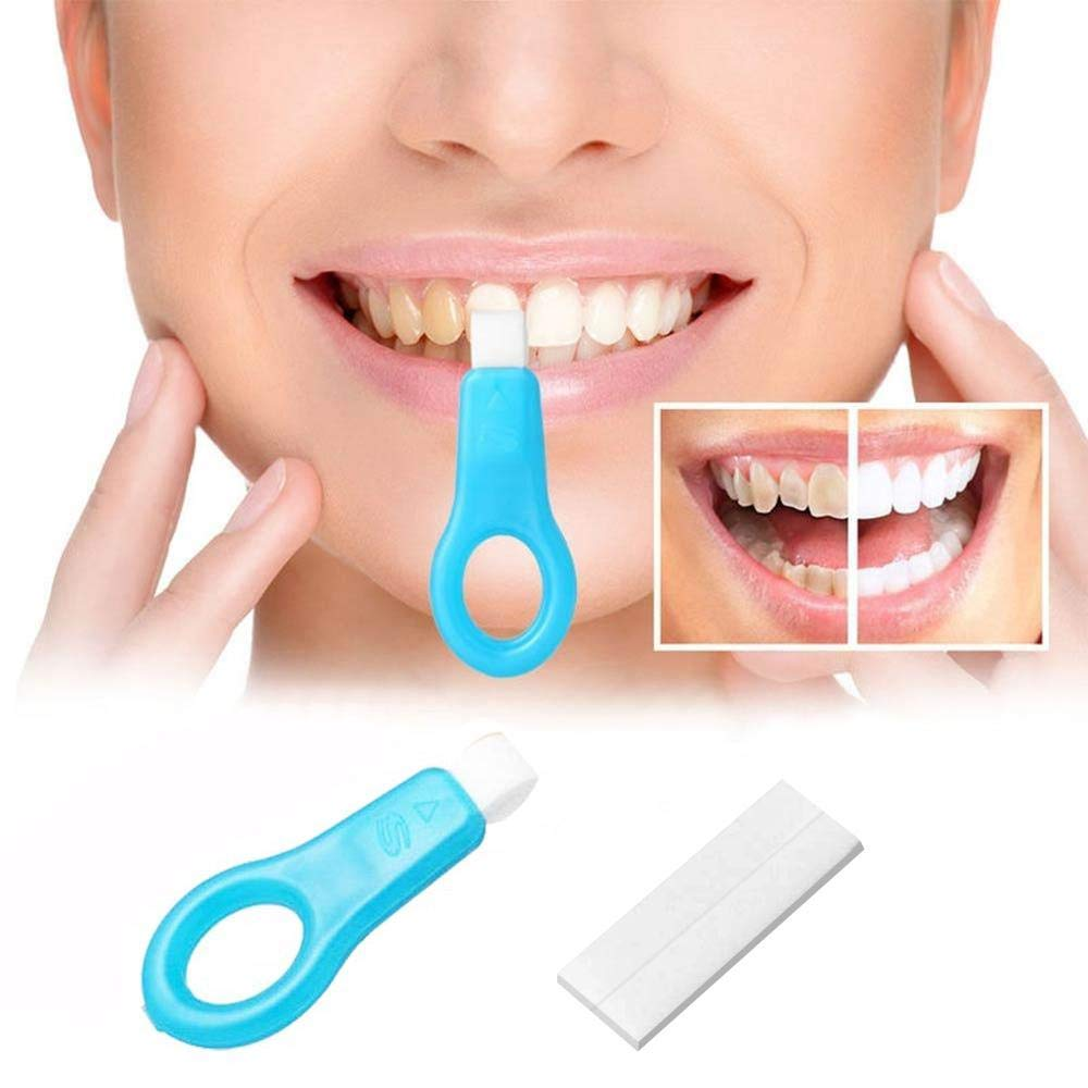 Pro Nano Teeth Whitening Kit Strips,Aolvo 13 Pcs Home Teeth Cleaning Kit,Natural Teeth Whitener System Tool Kit Bleaching Brown Yellow Tooth,Remove Smoke, Coffee Stain