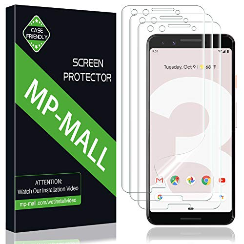 [3-Pack] MP-MALL for Google Pixel 3 Screen...