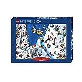 Paul Lamond Snowboards Cartoon Classic Puzzle (1000 Pieces)