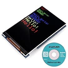 Kuman UNO R3 3.5 TFT Screen with SD Card Socket for Arduino MEGA 2560 Board Module SC3A