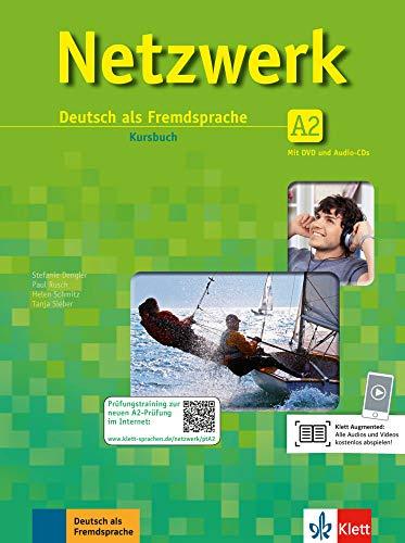 Netzwerk: Kursbuch A2 mit 2 Audio-CDs & 2 DVDs