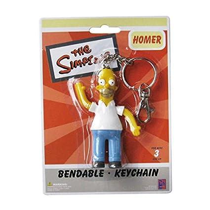 El llavero doble Ben Simpson Homer SSNJ140: Amazon.es ...