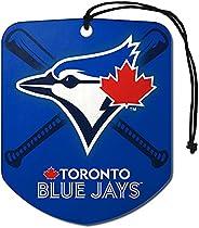 MLB Toronto Blue Jays Air Fresheners2 Pack Shield Design Air Fresheners, Team Colors, One Size
