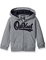 OshKosh B'Gosh Boys Hoodies Full Zip Logo Hoodie Hooded Sweatshirt