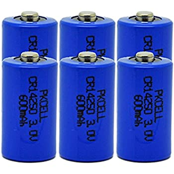Amazon.com: 1/2AA Size Lithium Batteries CR14250 (3.0V