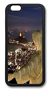 ACESR Christ The Redeemer Newest iPhone 6 Case TPU Back Cover Case for Apple iPhone 6 4.7inch Black