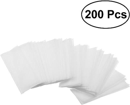 OUNONA - 200 bolsas de cultivo para plantas biodegradables no ...