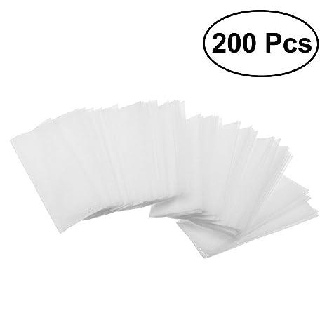 OUNONA - 200 bolsas de cultivo para plantas biodegradables no tejidas