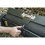 """Agri-Fab 45-0218 26-Inch Push Lawn Sweeper, 26 Inches, Black 11 Hopper bag: 7 cu. Ft. Capacity; collapsible hopper bag for easy storage WHEELS: 9. 75"""" x 2. 25"""" plastic wheels Assembly: some assembly required; a video instruction Guide is available to assist with the assembly process"""