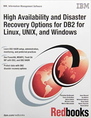 High Availability and Disaster Recovery Options for DB2 for