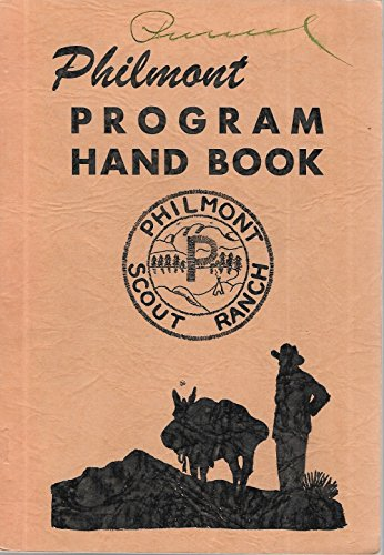 (Philmont Scout Ranch Program Hand Book - Cimarron New Mexico)
