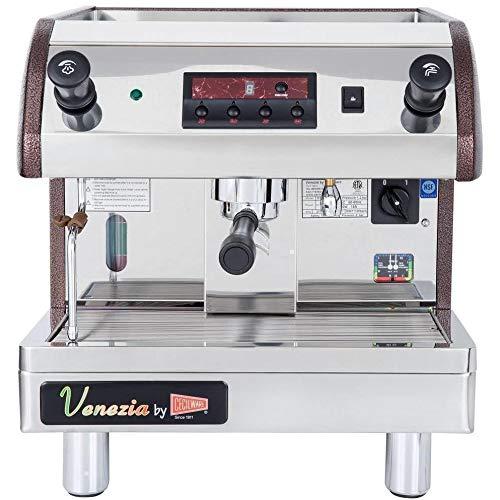 Cecilware Venezia Espresso Machine - Cecilware ESP1-110V Venezia II One Group Commercial Espresso Machine 120V 2000W