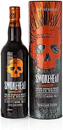 Smokehead RUM REBEL Islay Single Malt Scotch Whisky 46% - 700 ml in Tinbox