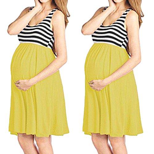 Embarazadas youth Fiesta Vestido K Embarazada Premama Fotos Mujeres Amarillo Playa Vestidos Fotografia Para Mujer Verano HfpzTq