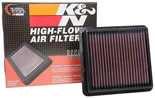 K&N E-0665 Round Car Replacement Air Filters: