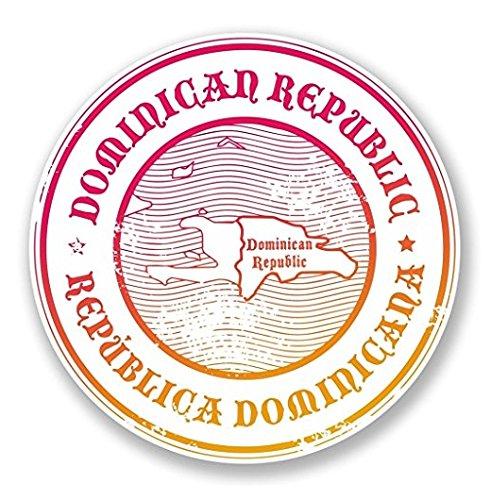 3 Pack - Dominican Republic Vinyl Sticker Decal - Sticker Graphic - Construction Toolbox, Hardhat, Lunchbox, Helmet, Mechanic, Luggage (Dominican Republic Scrapbooking)