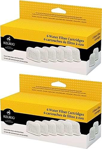 Keurig Six Water Filter Cartridges (12 filters)
