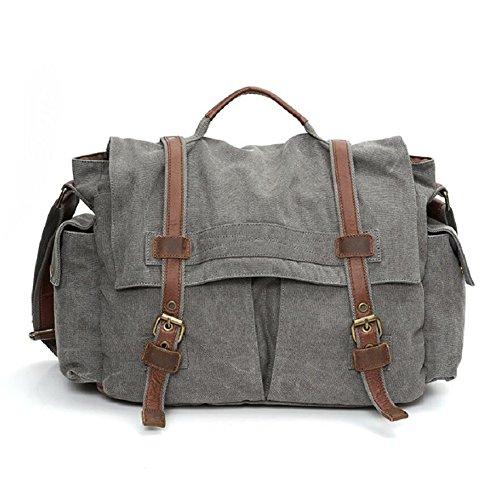 bag quality anti shoulder casual resistant backpack style practical high amp;J scratch multi wear A European outdoor function canvas retro shoulder tear anti ZC bag qxpBR7wqn
