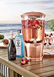 Member's Mark 3-Gallon Tritan Beverage Dispenser Copper
