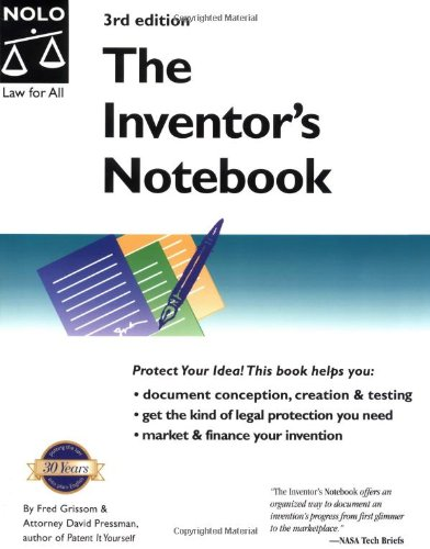 The Inventor's Notebook: Fred E. Grissom, David Pressman, Fred ...