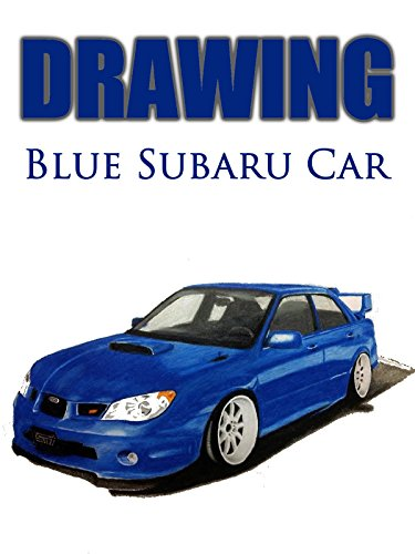 clip-drawing-blue-subaru-car