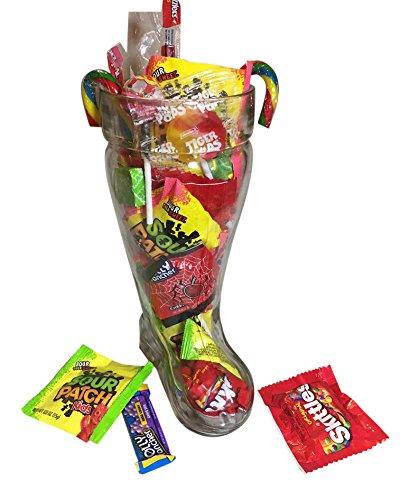XL BOOT Glass - Oktoberfest Drinking Das BOOT Filled Candy (Gummi Liquor Mix)