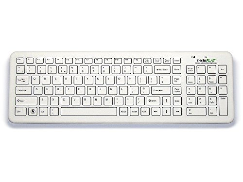 Antibacterial SterileFlat Wireless Medical Keyboard