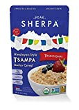 Peak Sherpa Traditional Tsampa Cereal, Pack of Six 10 Ounce Pouches, Ready to Eat, Certified Organic, Sprouted & Roasted Whole Grain Barley Cereal For Sale