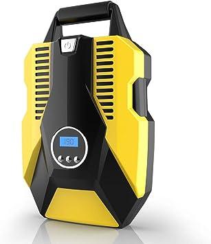 Compresor aire coche 12V portátil,bomba de aire electrica para ...