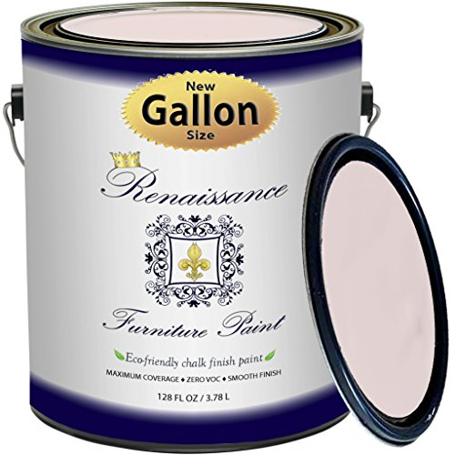 Renaissance Chalk Finish Paint - Cherry Blossom - Gallon (128oz) - Chalk Furniture & Cabinet Paint - Non Toxic, Eco-Friendly, Any Color from Any Major Brand ()