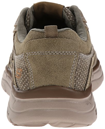 skechers GLIDES- STATUS - Zapatillas de deporte para hombre marrón