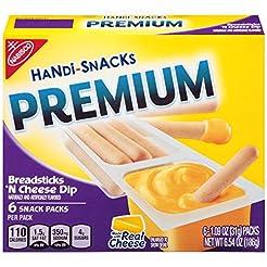 Handi Snacks Premium Breadsticks 'n Chee...
