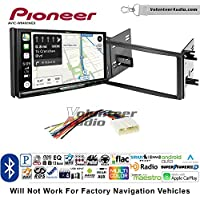 Volunteer Audio Pioneer AVIC-W8400NEX Double Din Radio Install Kit with Navigation, Apple CarPlay and Android Auto Fits 2009-2013 Subaru Forester, 2008-2014 Subaru Impreza