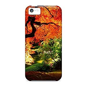 Unique Design Iphone 5c Durable Tpu Case Cover Stunning Fall Scenery Kimberly Kurzendoerfer