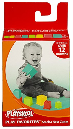 Playskool Play Favorites Stack & Nest Cubes