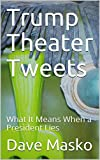 """Trump Theater Tweets, by Dave Masko.  Donald Trump's """"1984"""" styled presidency is a warning.  The mood it expresses is that of despair; while waging war on Freedom of the Press and Free Speech in America today.  The odious Trump administration reminds..."""