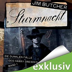 Sturmnacht (Die dunklen Fälle des Harry Dresden 1) Hörbuch