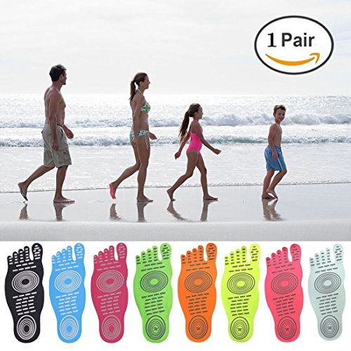 Men Women and Kids Sticker Adhesive Foot Pads Stick On Soles Flexible Feet Protection ,Socks For Exercise Beach Pool Feet , Non Slip Yoga - Hot Women Nakes