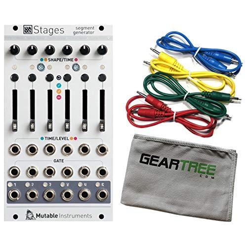 Mutable Instruments Stages Segment Generator Eurorack Module Bundle w/Cables