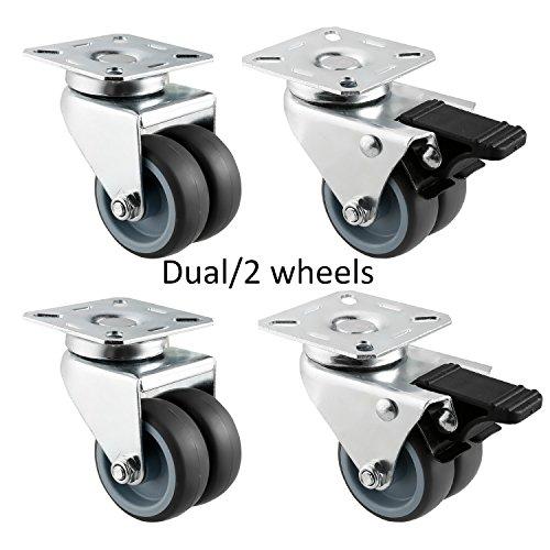 Heavy Duty Dual Wheel Caster (Homdox 2