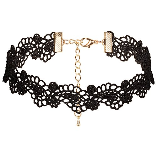 Choker Necklace Black Velvet Necklaces